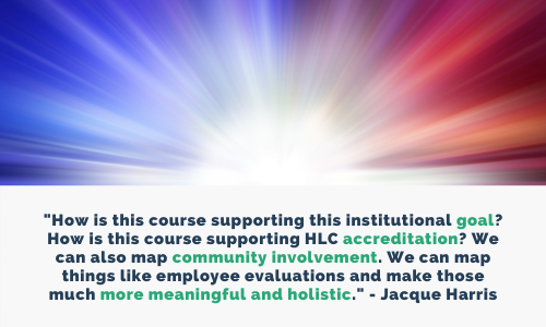 With CourseTune, OTC has a holistic approach to curriculum design.