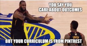 Your curriculum map is on pintrest
